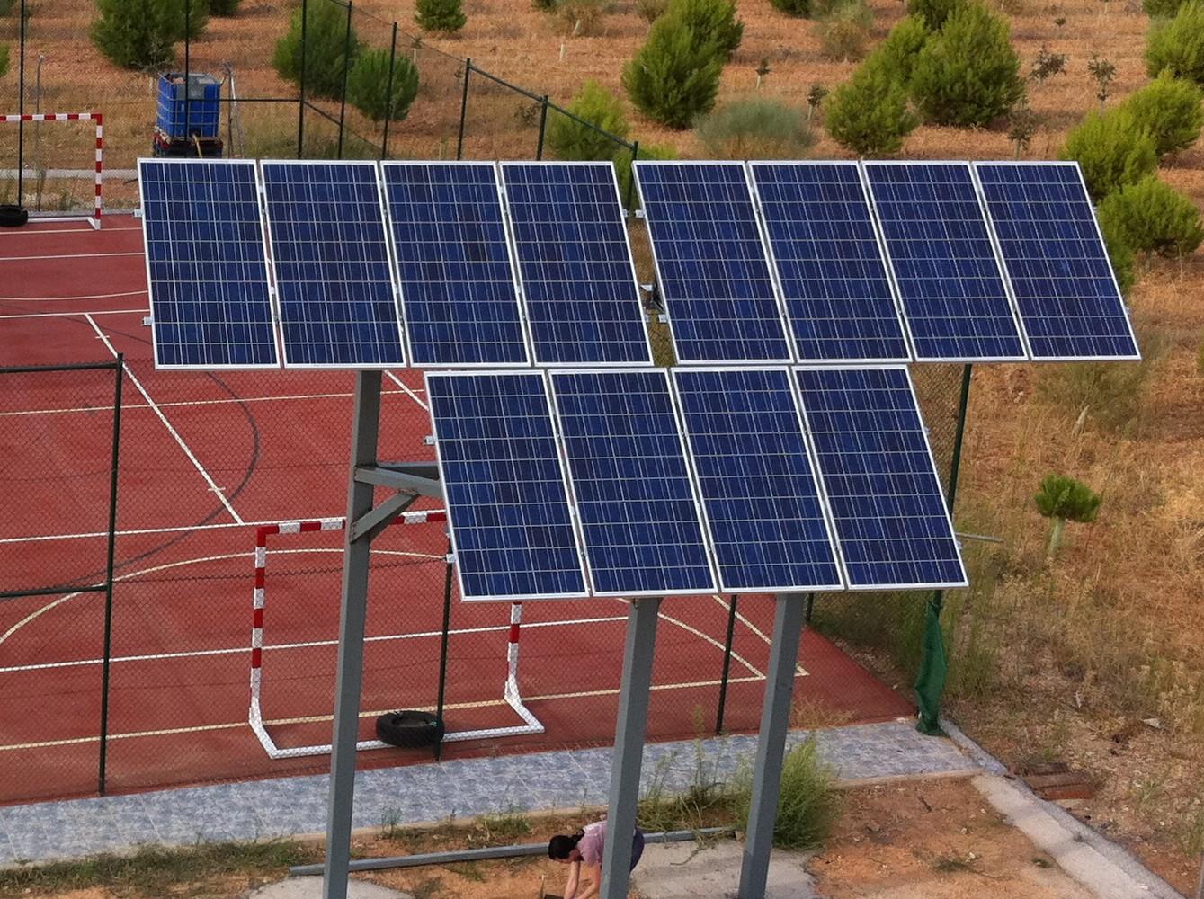 Montelec montajes y sistemas sl energia solar en toledo - Paneles solares para abastecer una casa ...